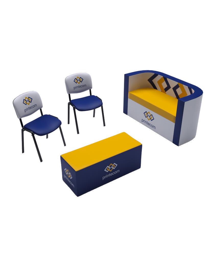 Kit Espace d' Accueil - Décoration entreprise Mobilier d'entreprise personnalisable - printecom.fr
