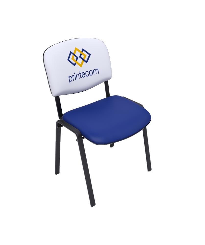 Chaise tissu Réunion - Décoration entreprise Mobilier d'entreprise personnalisable - printecom.fr