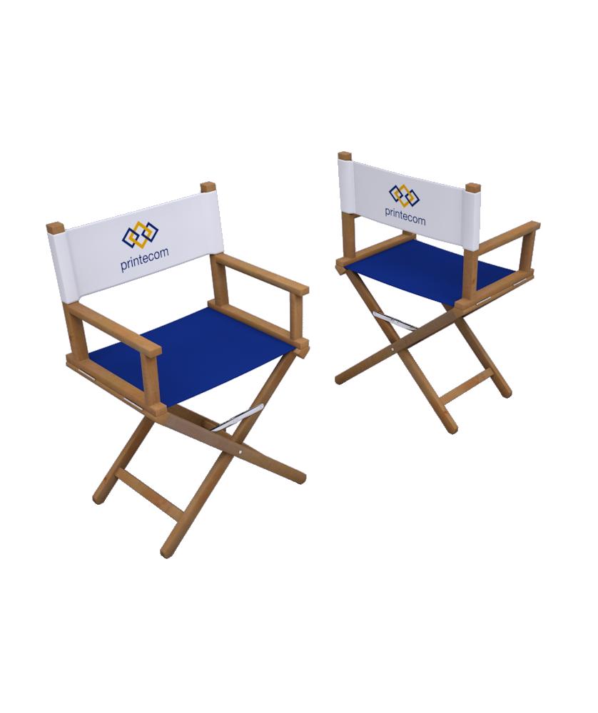 Chaise de réalisateur - Décoration entreprise Mobilier d'entreprise personnalisable - printecom.fr