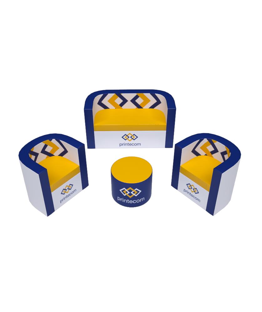 Kit d'Accueil Détente - Décoration entreprise Mobilier d'entreprise personnalisable - printecom.fr