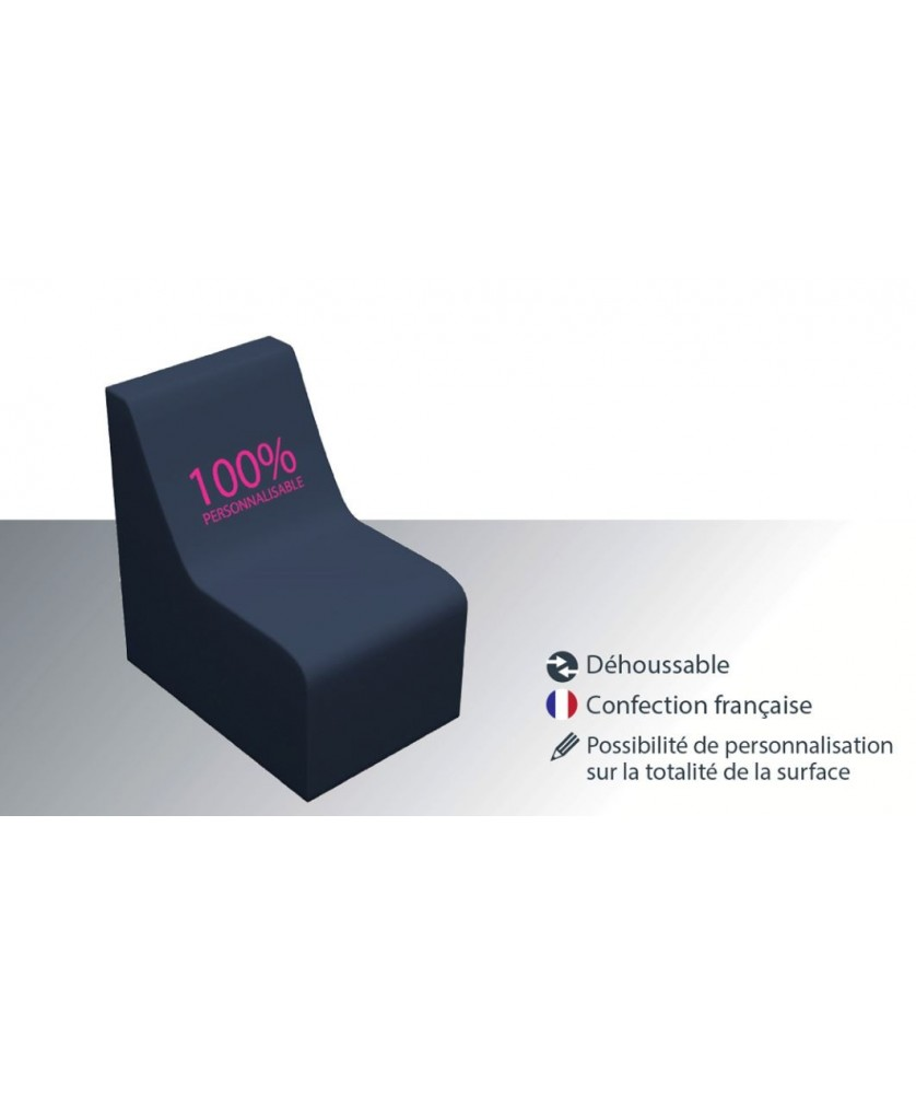 Chauffeuse - Décoration entreprise Mobilier d'entreprise personnalisable - printecom.fr