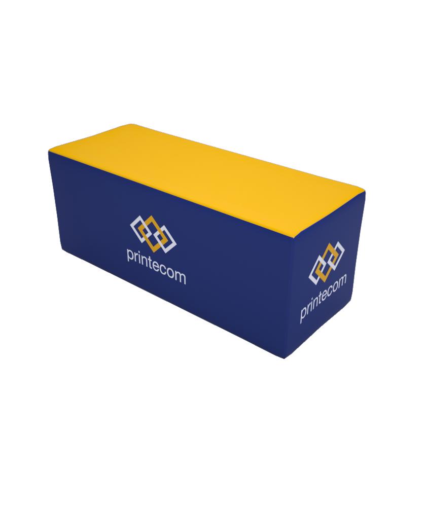 Banc mousse Luxe - Décoration entreprise Mobilier d'entreprise personnalisable - printecom.fr
