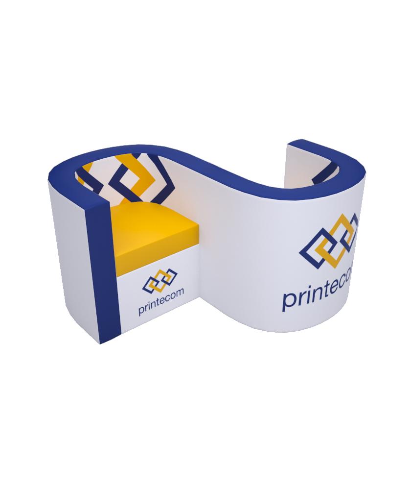 Vis-à-vis Luxe - Décoration entreprise Mobilier d'entreprise personnalisable - printecom.fr