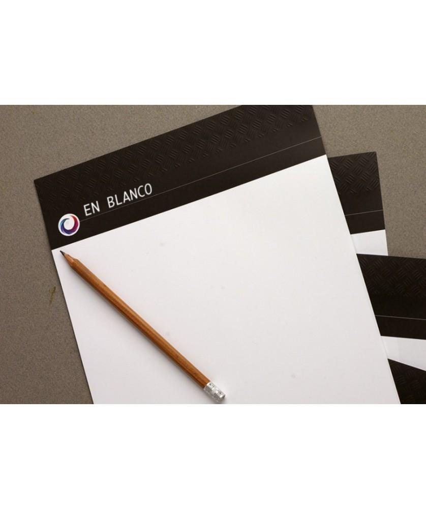 Papier Entête A4 imprimé Recto Quadri - Papèterie et Packaging Têtes de lettre - printecom.fr