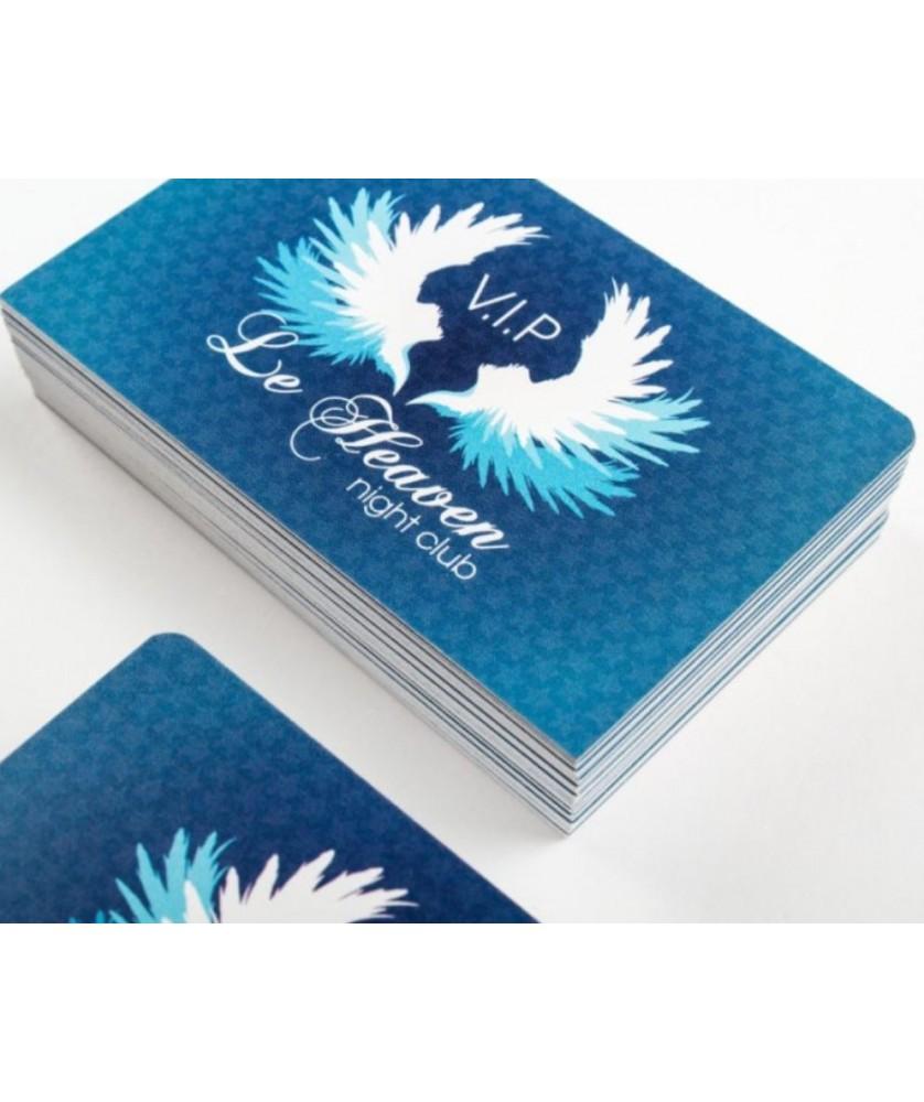 Carte de visite imprimée Recto seul - Papèterie et Packaging Carte de visite et cartes postales - printecom.fr