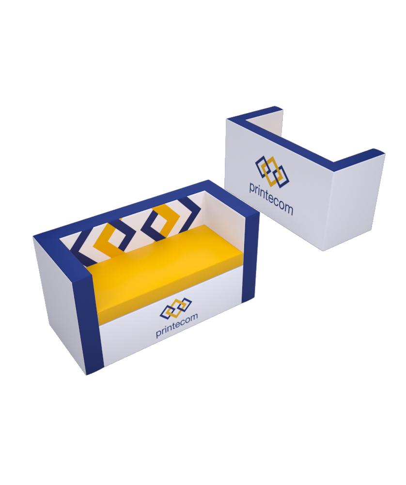 Canapé droit - Décoration entreprise Mobilier d'entreprise personnalisable - printecom.fr