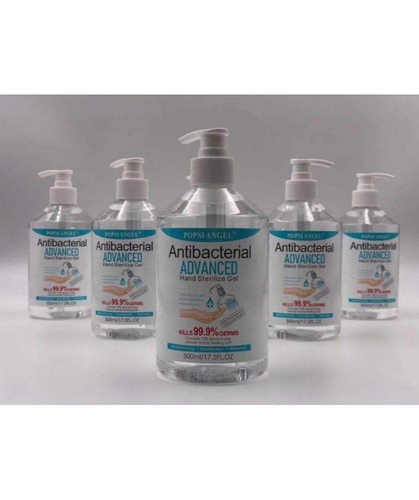 Lot de 30 gels mains 500 ml - Protections et Sécurité au travail Masques, gels, lingettes - printecom.fr