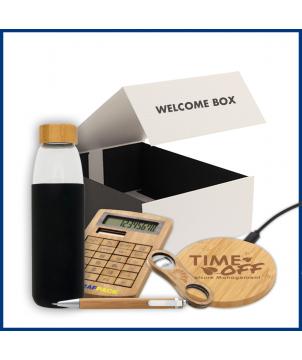 Welcome Box Bambou 3 - Objet et Support publicitaire entreprise - printecom.fr