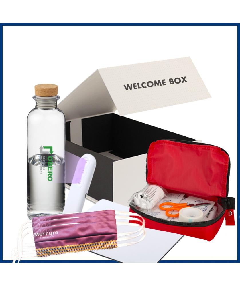 Welcome Box Protection 3 - Objet et Support publicitaire entreprise - printecom.fr