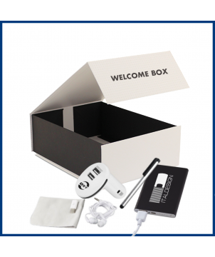 Welcome Box Nomade 1 - Objet et Support publicitaire entreprise - printecom.fr