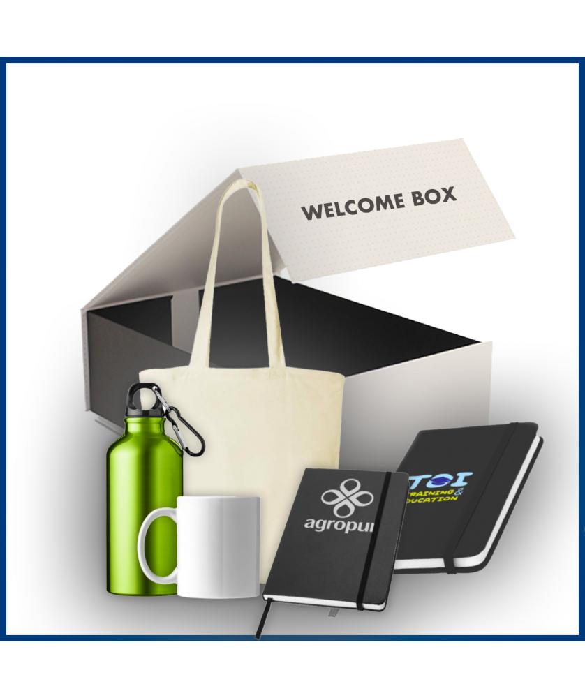 Welcome Box Classic 3 - Objet et Support publicitaire entreprise - printecom.fr