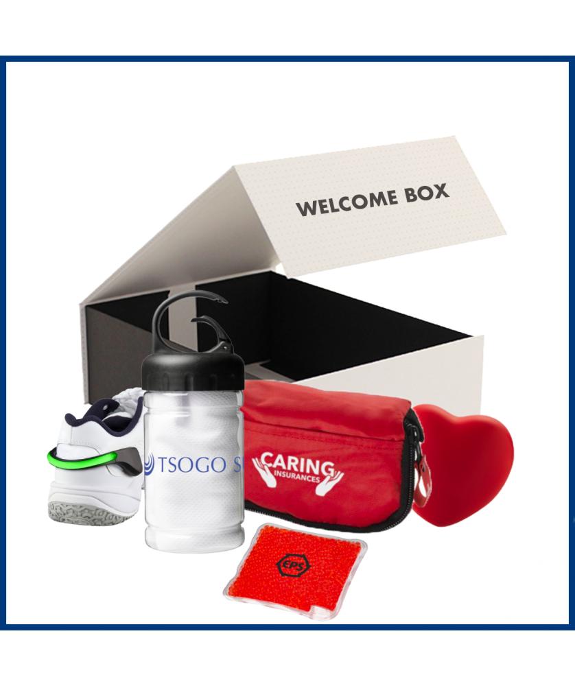 Welcome Box Bien-être 3 - Objet et Support publicitaire entreprise - printecom.fr
