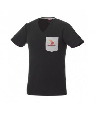 T-shirt manches courtes avec poche homme - Textiles promotionnels personnalisés T-Shirt et Polos - printecom.fr